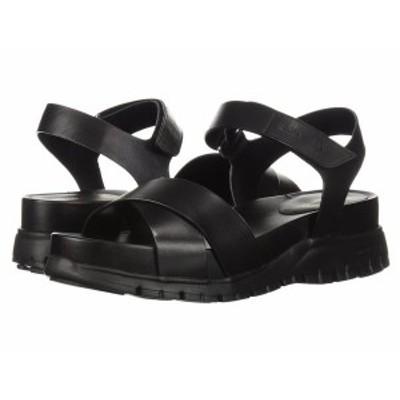 コールハーン レディース サンダル シューズ Zerogrand Sandal II Black Leather/B