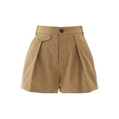 DSQUARED2/ディースクエアード Beige Dsquared2 short pants レディース 春夏2020 S72MU0350 S35175 ik