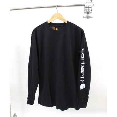tシャツ Tシャツ M HW L/S GRAPHIC T-SHIRT スリーブロゴプリントTシャツ
