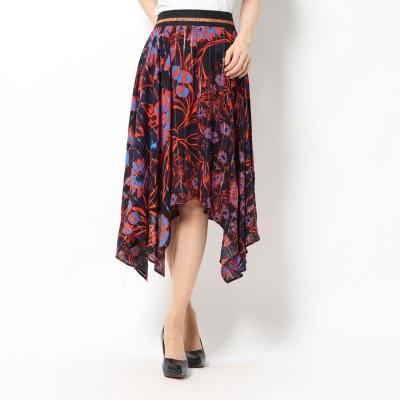 デシグアル Desigual スカート ITACA (オレンジ)