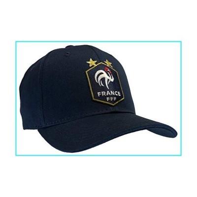 フランスFFF帽子ブルー野球帽キャップ