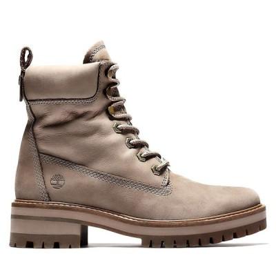 ティンバーランド Timberland レディース ブーツ シューズ・靴 Courmayeur Valley 6 Inch Boot Dark Grey Nubuck
