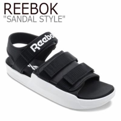 リーボック サンダル REEBOK メンズ レディース SANDAL STYLE サンダルスタイル スポーツサンダル BLACK ブラック EF8029 シューズ