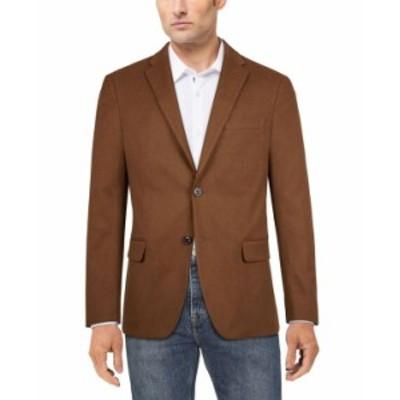 トミー ヒルフィガー メンズ ジャケット・ブルゾン アウター Men's Modern-Fit Solid Sport Coat Vicuna