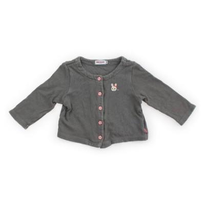 ミキハウス mikiHOUSE カーディガン 90サイズ 女の子 子供服 ベビー服 キッズ