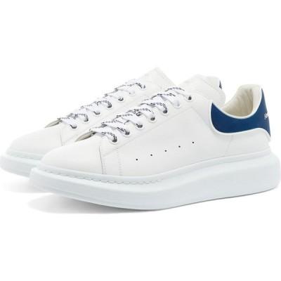 アレキサンダー マックイーン Alexander McQueen メンズ スニーカー ウェッジソール シューズ・靴 Heel Tab Wedge Sole Sneaker White/Paris Blue
