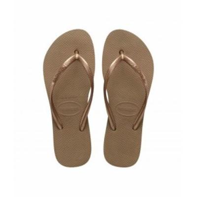 Havaianas ハワイアナス レディース 女性用 シューズ 靴 サンダル Slim Flatform Sandal Rose Gold【送料無料】