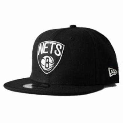 ニューエラ スナップバックキャップ 帽子 NEW ERA 9fifty メンズ レディース NBA ブルックリン ネッツ フリーサイズ [ bk ]