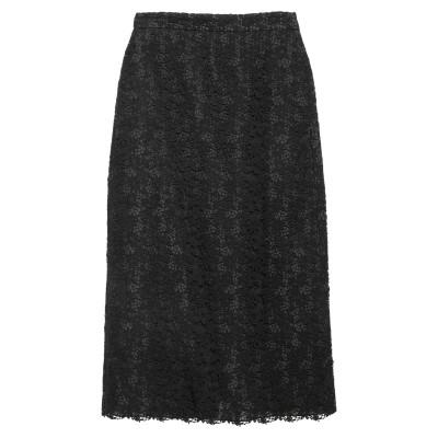 BROCK COLLECTION ロングスカート ブラック 2 コットン 88% / ポリエステル 12% ロングスカート