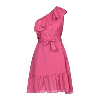 SE-TA Rosy Iacovone ミニワンピース&ドレス ガーネット 42 コットン 62% / シルク 30% / ポリウレタン 8% ミニ