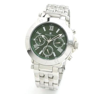 新品 2年保証 送料無料 Salvatore Marra サルバトーレマーラ 腕時計 SM14118 SM14118-SSGR メンズ 男性 ステンレス