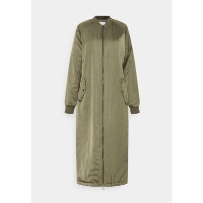 オンリー コート レディース アウター ONLNATALIE LONG BOMBER - Classic coat - kalamata