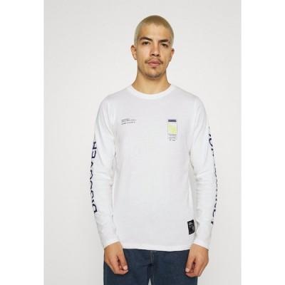 リディファイン レベル カットソー メンズ トップス RRMUSA TEE - Long sleeved top - offwhite