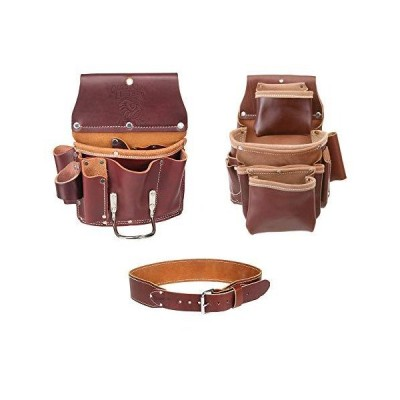 Occidental Leather 5062 4 Pocket Pro Fastener Bag w 5070 Drywall Pouch & Belt S【並行輸入品】