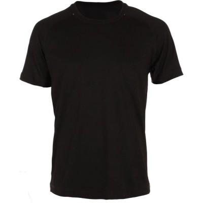 ソフィベラ Sofibella メンズ テニス トップス Raglan Short Sleeve T-Shirt Black