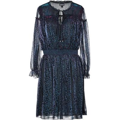ジャストカヴァリ JUST CAVALLI ミニワンピース&ドレス ブルー 40 ナイロン 59% / ポリエステル 41% ミニワンピース&ドレス
