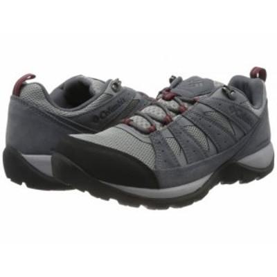 Columbia コロンビア メンズ 男性用 シューズ 靴 ブーツ ハイキング トレッキング Redmond(TM) V2 Waterproof Monument/Red【送料無料】