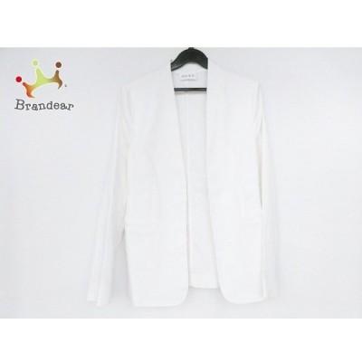 プラステ PLS+T(PLST) ジャケット サイズS レディース 美品 白 新着 20200502
