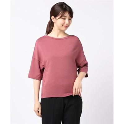 tシャツ Tシャツ Dare Top オーバーサイズジャージーカットソー ボックスシルエット [HOPE/ホープ]