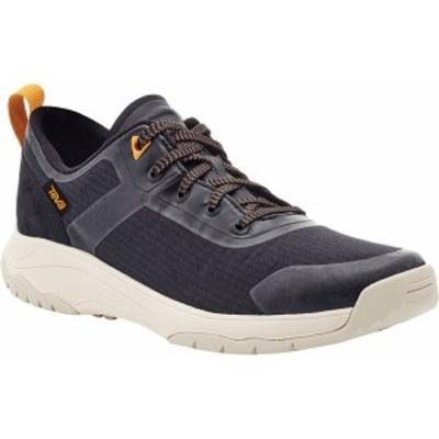 テバ レディース スニーカー シューズ Gateway Low Hiking Sneaker Black Recycled Polyester/Suede
