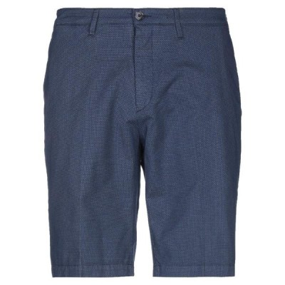 LIU JO MAN ショートパンツ&バミューダパンツ ファッション  メンズファッション  ボトムス、パンツ  ショート、ハーフパンツ ダークブルー