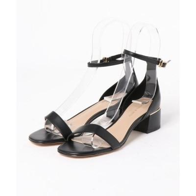 サンダル アンクルストラップヒールサンダル / Ankle Strap Heeled Sandals