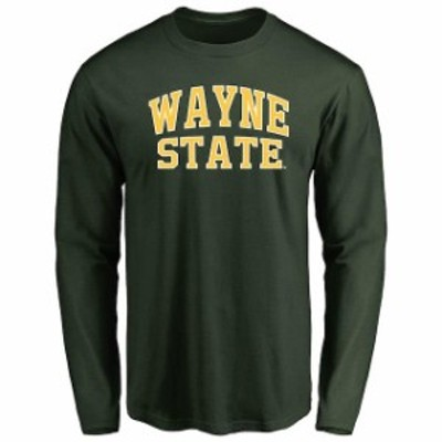 Fanatics Branded ファナティクス ブランド スポーツ用品  Wayne State Warriors Green Everyday Long Sleeve T-Shirt