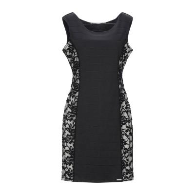 ゲス GUESS ミニワンピース&ドレス ブラック M ポリエステル 97% / ポリウレタン 3% / ナイロン ミニワンピース&ドレス