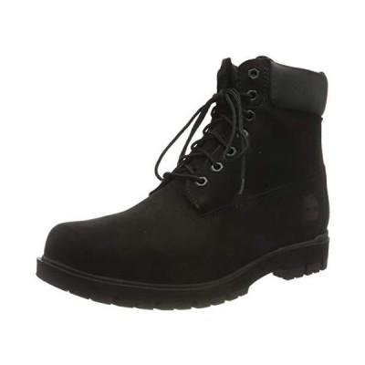 (新品) Timberland Mens Radford 6 Inch Waterproof Snow Winter Nubuck Boots - Black - 8.5