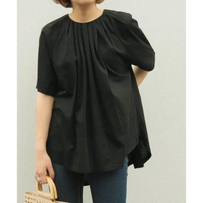 tシャツ Tシャツ AULI タックデザインTシャツ