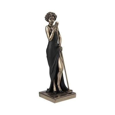 JFSM INC 女性シンガー像彫刻フィギュア  ブラックスーツエディション  ジャズバンドコレクション