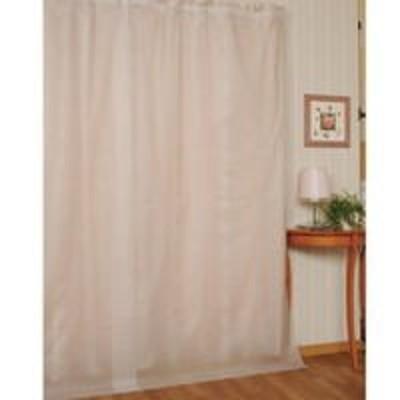 【断冷カーテン 100×225cm】暖房のムダを省き、燃料費の節約にも。付けはずし簡単。フックで、お部屋のカーテンの上にかけるだけ!