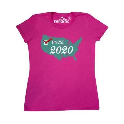 レディース 衣類 トップス Vote 2020 weathered USA Liberty Green Women's T-Shirt Tシャツ