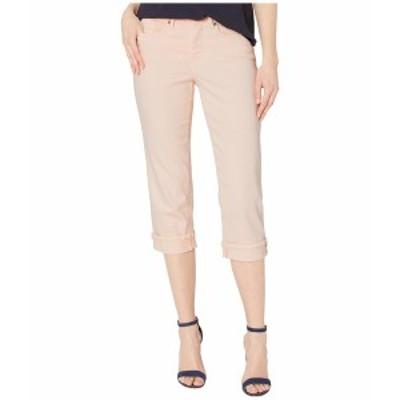 エヌワイディージェイ レディース デニムパンツ ボトムス Marilyn Crop Cuff Jeans in Pink Dusk Pink Dusk