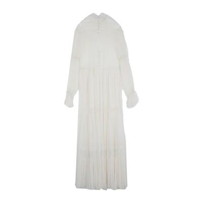ジョナサン シンカイ JONATHAN SIMKHAI ロングワンピース&ドレス ホワイト 6 シルク 100% ロングワンピース&ドレス