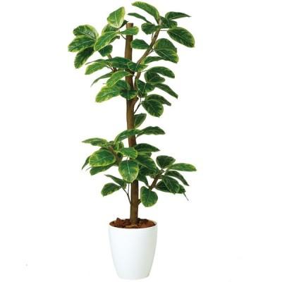 人工観葉植物  アルテシマ N-style150(器:RP-265)99118|フェイクグリーン イミテーション インテリア 開店祝 新築祝 敬老の日 造花《2018ds》
