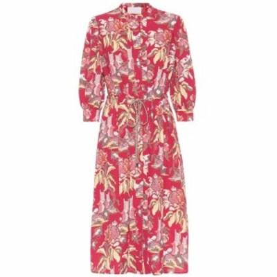 ピーター ピロット Peter Pilotto レディース ワンピース シャツワンピース ワンピース・ドレス Printed crepe shirt dress Column Flowe