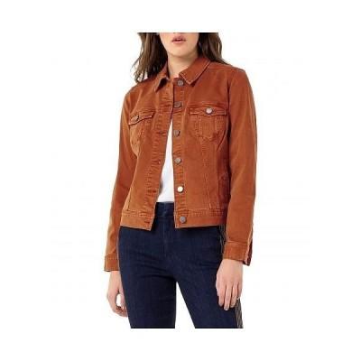 Liverpool ライブプール レディース 女性用 ファッション アウター ジャケット コート ジージャン Classic Denim Jacket in Stretch Slub Twill - Tamarind