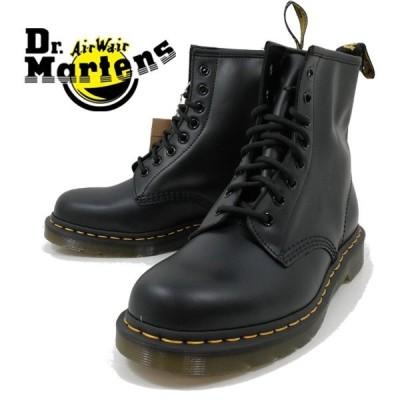 正規販売代理店 ドクターマーチン 8ホール 黒 革 ブラック ブーツ 靴 メンズ 1460 8-EYE