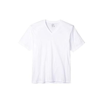 ジョッキー メンズ シャツ トップス Classic Staynew Bonus Pack V-Neck T-Shirt (3-Pack + 1 Free)