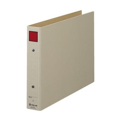 全国配送可 保存ファイル 4383 A4E 30mm 灰/赤 jtx 199757 キングジム