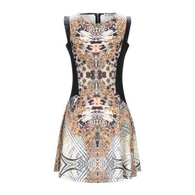 MANGANO ミニワンピース&ドレス オークル S ポリエステル 95% / ポリウレタン 5% ミニワンピース&ドレス