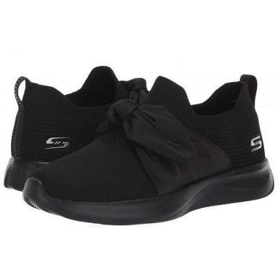 BOBS from SKECHERS ボブス スケッチャーズ レディース 女性用 シューズ 靴 スニーカー 運動靴 Bobs Squad 2 - Black/Black