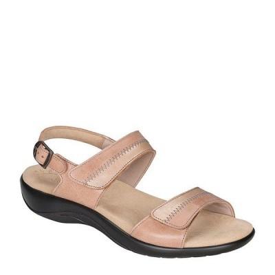 エスエーエス レディース サンダル シューズ Nudu Two-Toned Leather Sandals Dawn