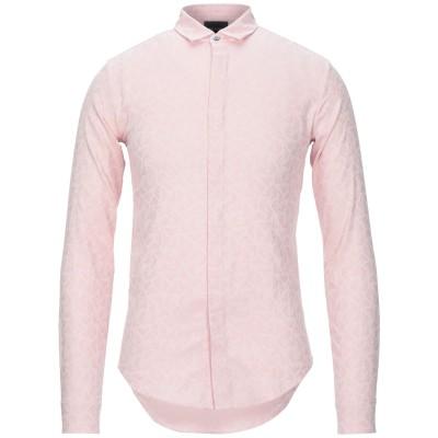エンポリオ アルマーニ EMPORIO ARMANI シャツ ピンク XS コットン 100% シャツ