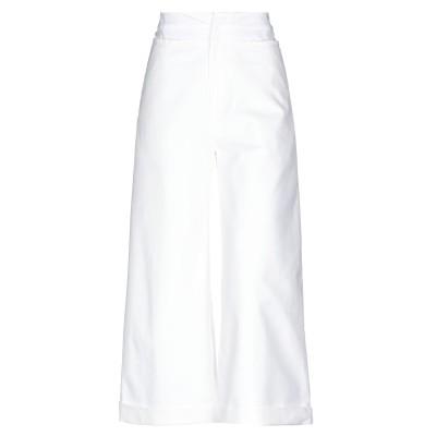 レジーナ・ピョ REJINA PYO パンツ ホワイト 6 コットン 94% / ポリウレタン 6% パンツ