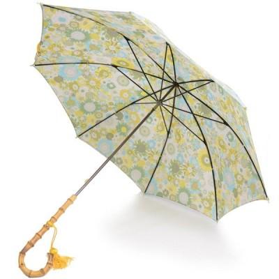 フォックス・アンブレラズ レディース WL4-51cm長傘 ワンギーハンドル リバティプリント傘 イギリス製 UVカット 晴雨兼用 ピンク系