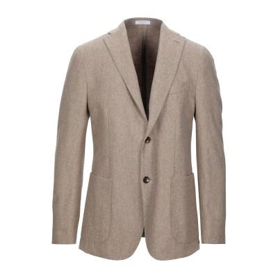 ボリオリ BOGLIOLI テーラードジャケット サンド 46 バージンウール 100% テーラードジャケット