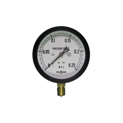 一般圧力計A形Φ100(簡易防滴形) TOKO(東洋計器興業) BL-AT3/8G 100×0.25MPa(簡易防滴形)