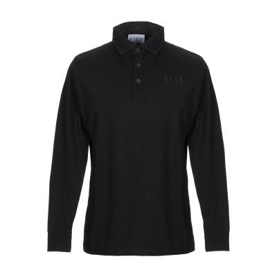 ジョン リッチモンド JOHN RICHMOND ポロシャツ ブラック S コットン 100% ポロシャツ